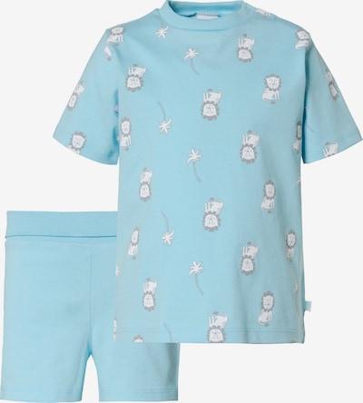SANETTA Schlafanzug , Organic Cotton in türkis, Produktansicht