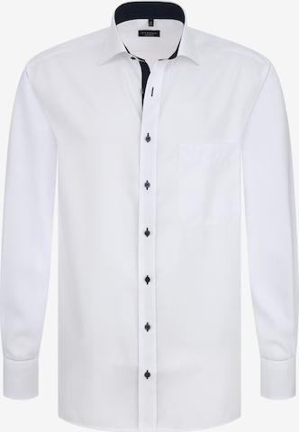 ETERNA Langarm Hemd COMFORT FIT in Weiß