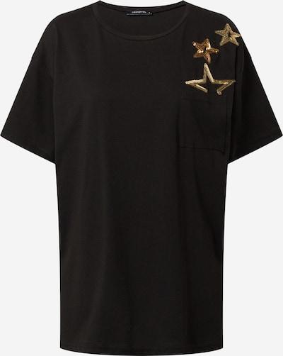 Trendyol T-Shirt in gelb / schwarz, Produktansicht
