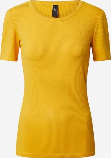 Y.A.S Shirt in de kleur Goudgeel, Productweergave