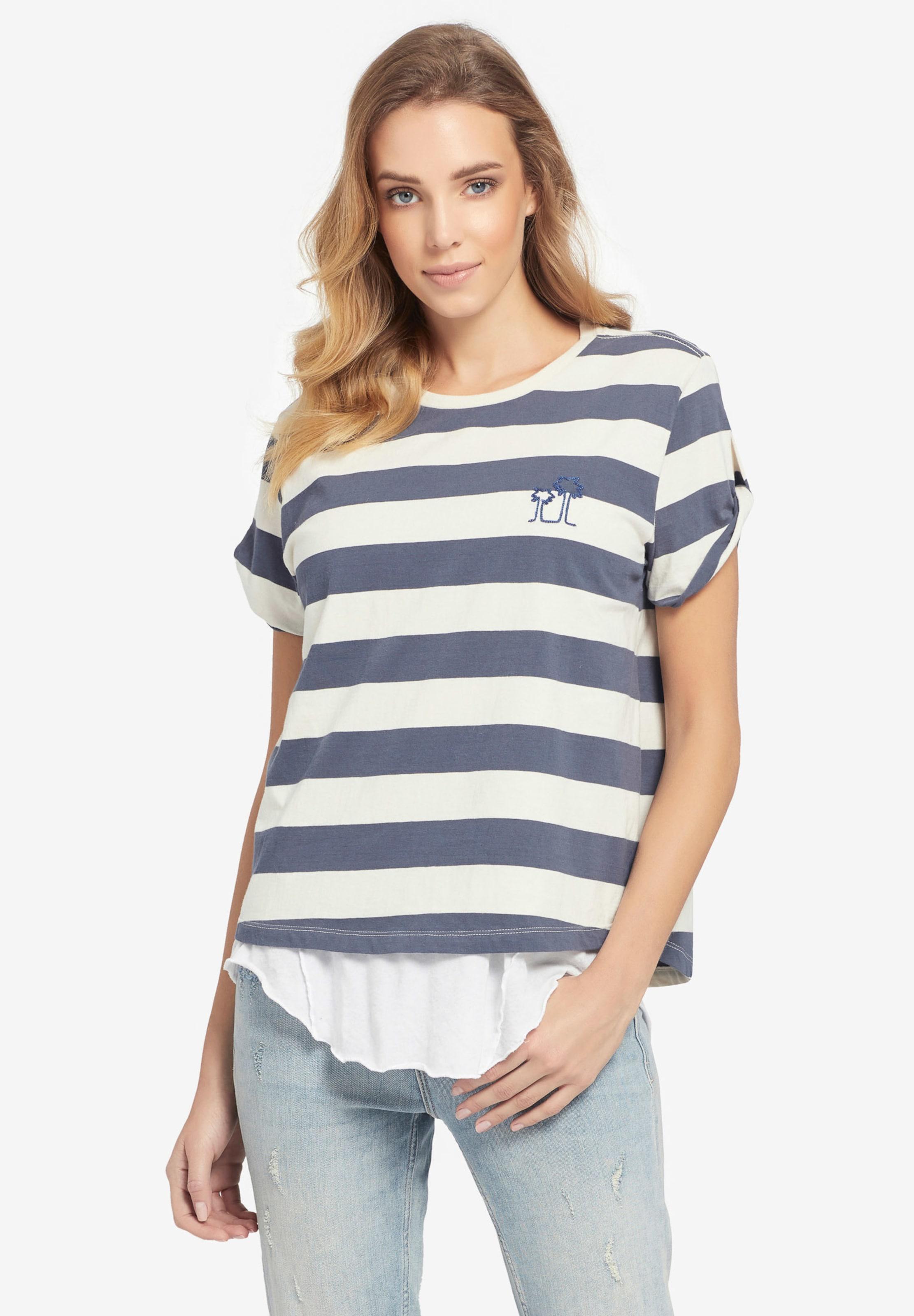 'lucida' CrèmeBleu shirt En Khujo T vNnwO80m