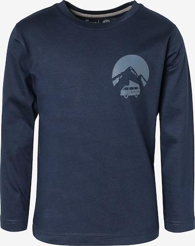 ELKLINE Shirt 'Travelfever' in rauchblau / dunkelblau, Produktansicht