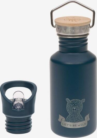LÄSSIG Lässig Trinkflasche in blau / hellbraun / silbergrau, Produktansicht