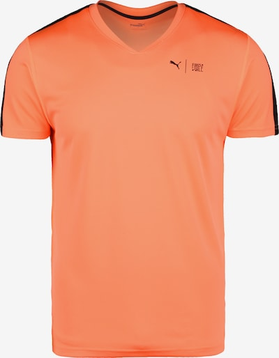 PUMA Functioneel shirt in de kleur Koraal / Zwart, Productweergave