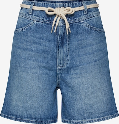 Review Jeans 'HW CUT-ON SHORTS' in de kleur Blauw denim, Productweergave