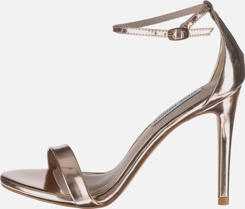 STEVE MADDEN Stiletto-Sandale in Lackoptik 'Stecy'
