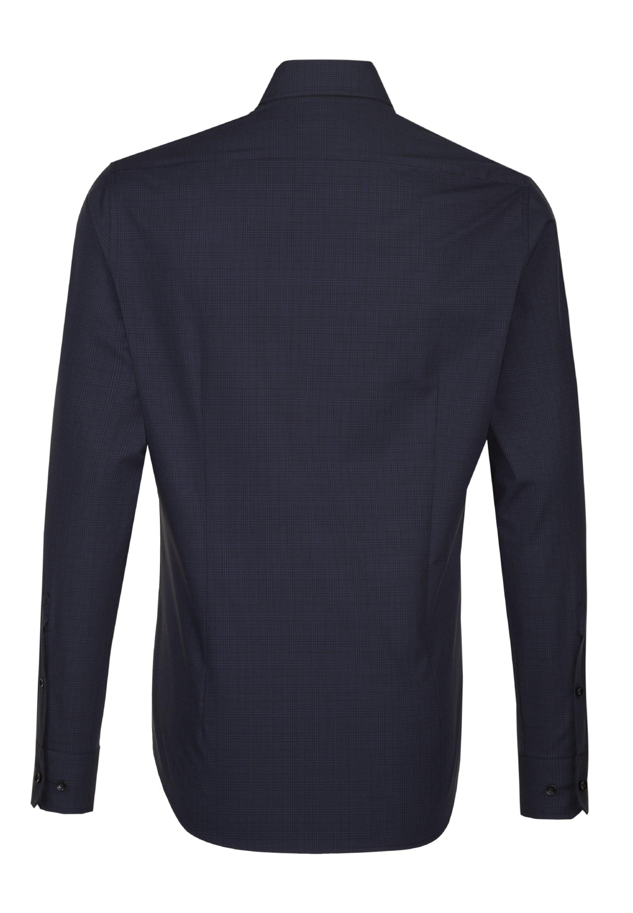 'tailored' In City Navy hemd Seidensticker Pkw8XO0n