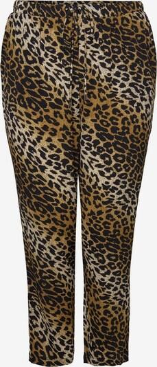 ONLY Carmakoma Bedruckte Curvy Hose in braun, Produktansicht