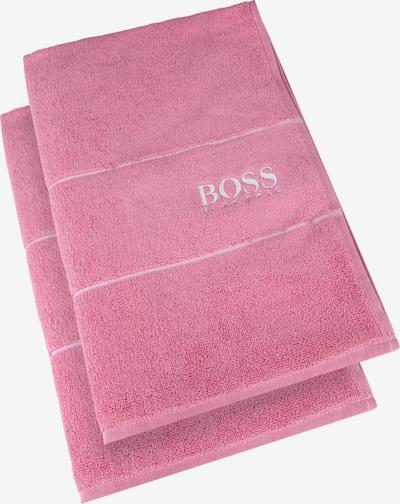 BOSS Home Gästehandtuch 'Plain' in pink, Produktansicht