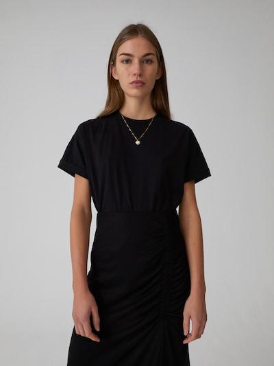 EDITED T-Shirt Selena in schwarz: Frontalansicht
