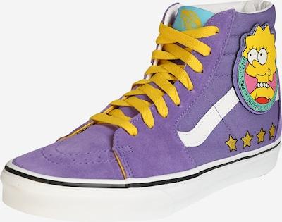VANS Sneakers hoog in de kleur Geel / Lila / Wit, Productweergave