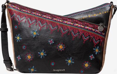 Desigual Schoudertas 'Harry' in de kleur Bruin / Gemengde kleuren / Zwart, Productweergave