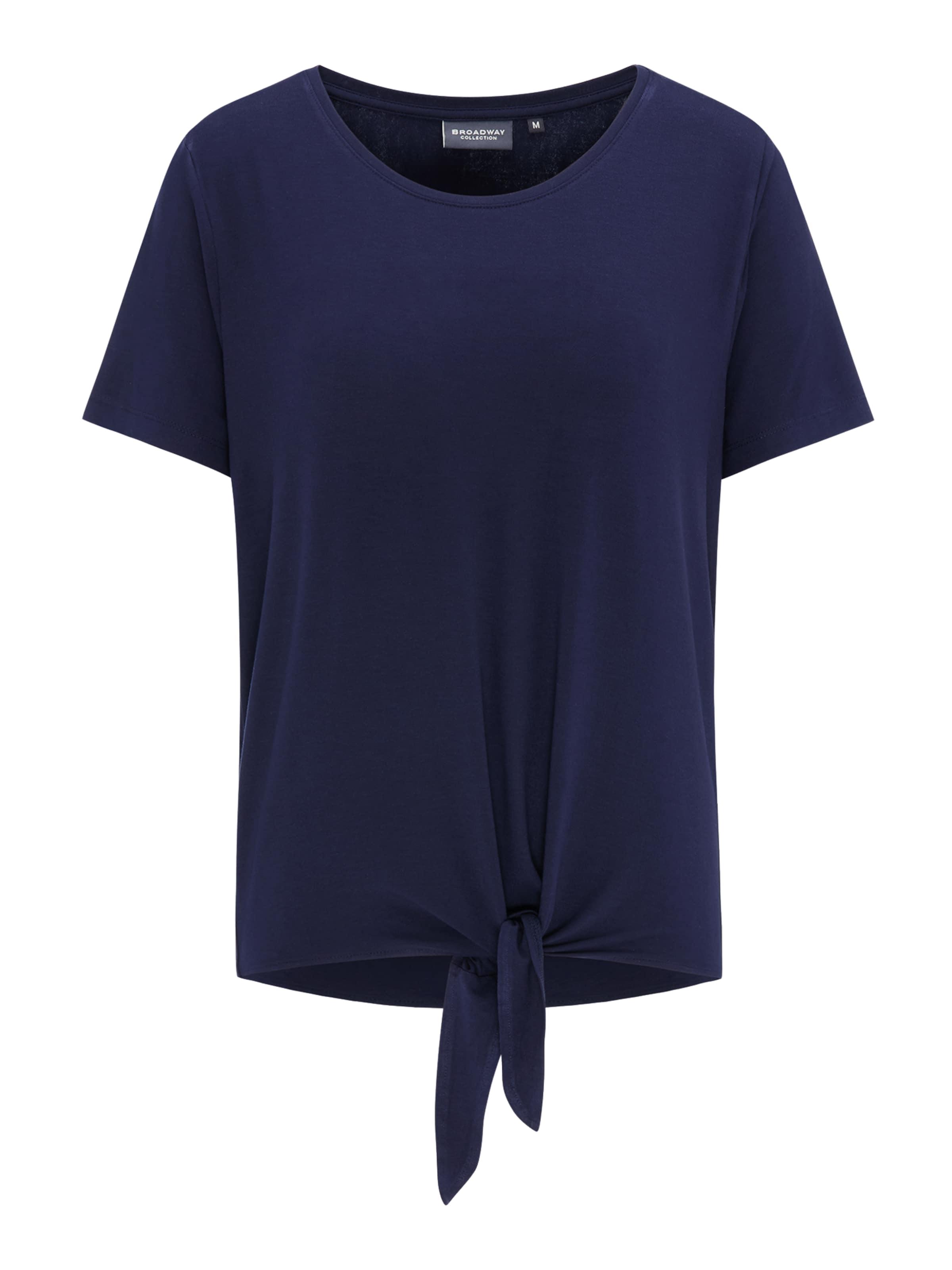 Broadway Nyc Fashion In Dunkelblau 'pietra' Shirt EIWD2H9