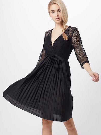 ABOUT YOU Robe de cocktail 'Arvena' en noir, Vue avec modèle