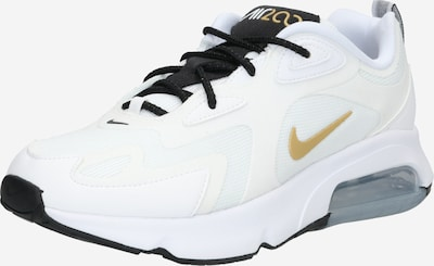 Nike Sportswear Baskets basses 'AIR MAX 200' en or / blanc, Vue avec produit