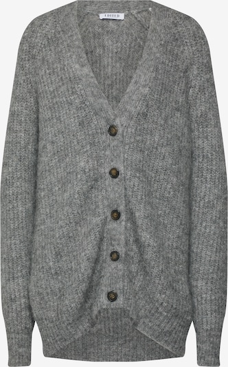 EDITED Knit cardigan 'Eliandro' in grey / grey mottled, Item view