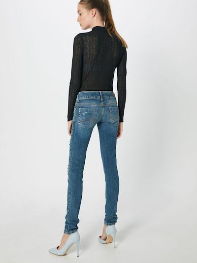 LTB Jeans 'Molly' in blue denim: Rückansicht