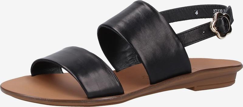 Paul Green Sandalen met riem in Zwart H8GilfO2