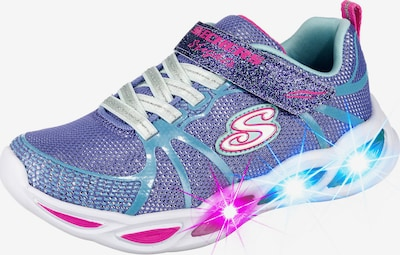 SKECHERS Sneakers 'Shimmer' in blau / pink, Produktansicht