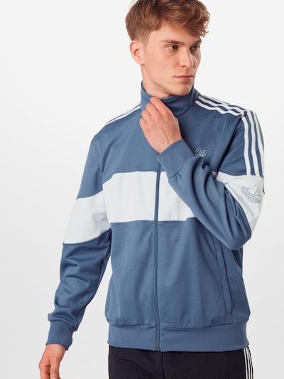 Hanorac 'BANDRIX TT' ADIDAS ORIGINALS pe albastru închis / alb, Vizualizare model