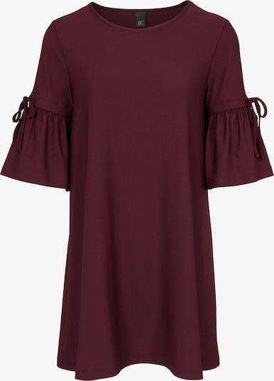 heine T-shirt oversize en bordeaux, Vue avec produit