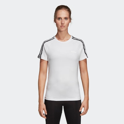 ADIDAS PERFORMANCE Funktionsshirt in weiß: Frontalansicht