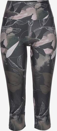 LASCANA Leggings in khaki / hellpink / weiß, Produktansicht