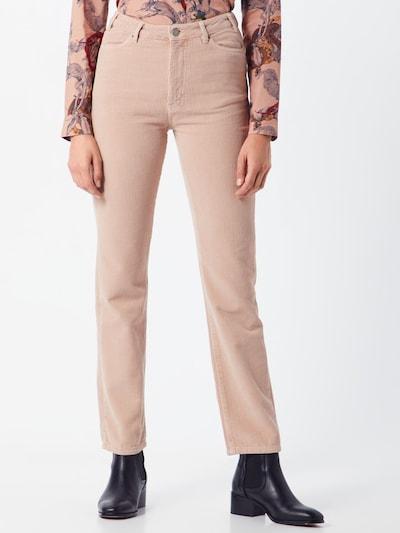 Vero Moda Copenhagen STUDIO Spodnie 'SINEROY' w kolorze różowy pudrowym, Podgląd na modelu(-ce)