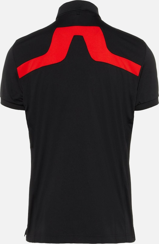 J.Lindeberg Poloshirt  KV TX Jersey  in rot   schwarz   ABOUT YOU 873a278b98