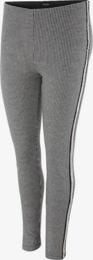 Aniston CASUAL Leggings in schwarz / weiß, Produktansicht