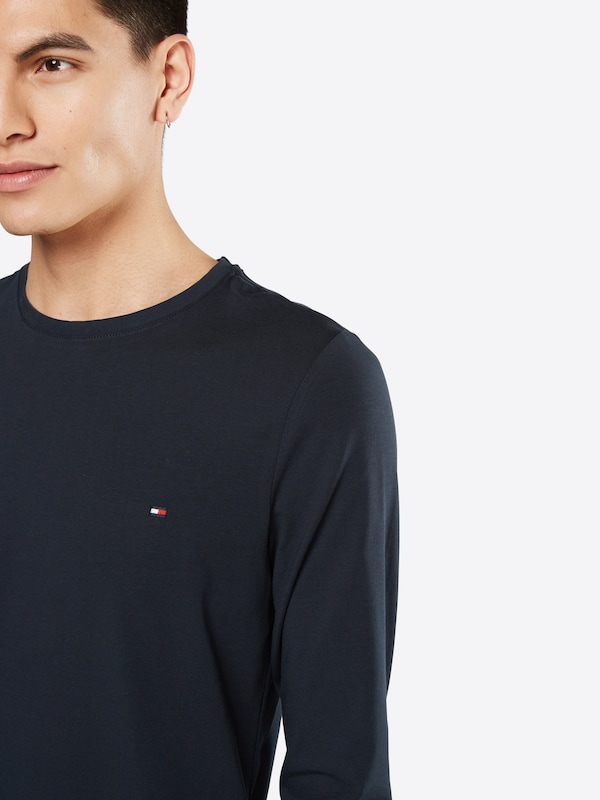 Tommy Hilfiger Manches Longues stretch Cnk Tee L / S Sf