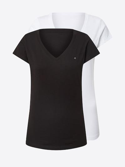 fekete / fehér REPLAY Póló, Termék nézet