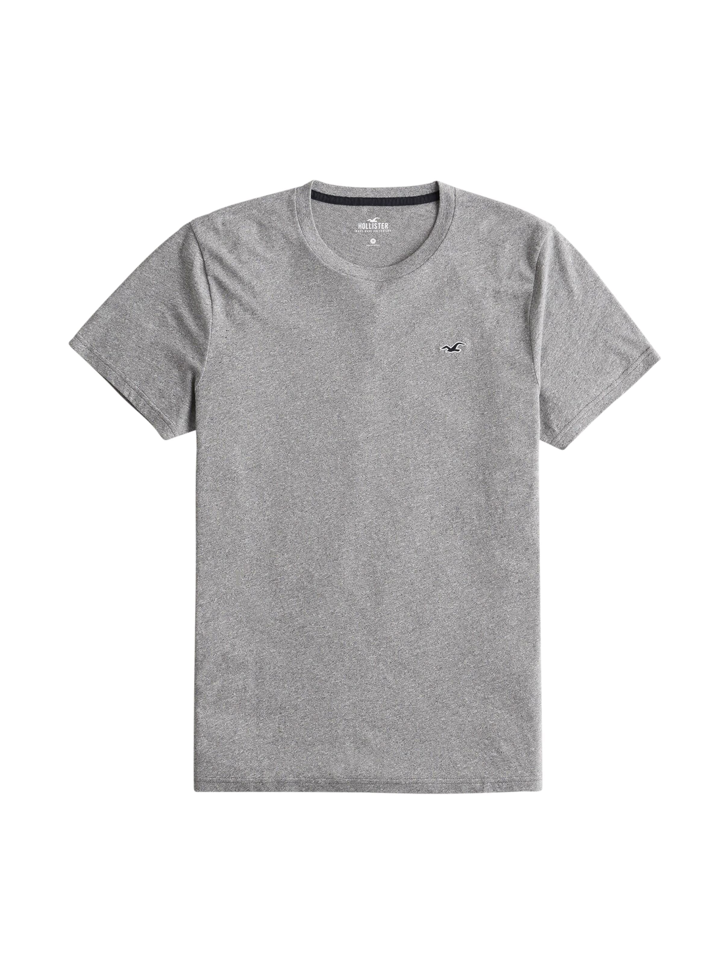 Gris T En Hollister Clair shirt 0wOknP