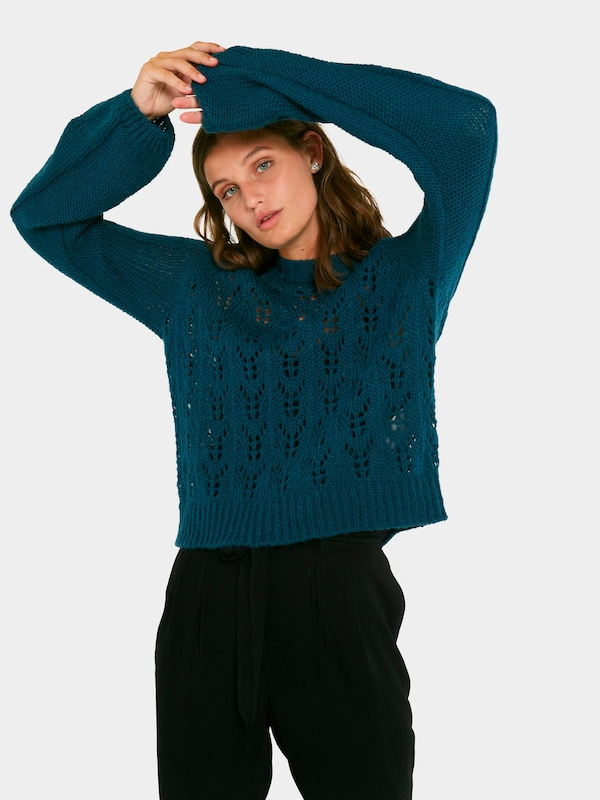 Petrol Pieces Pullover Pullover Pieces wFXvtxYq