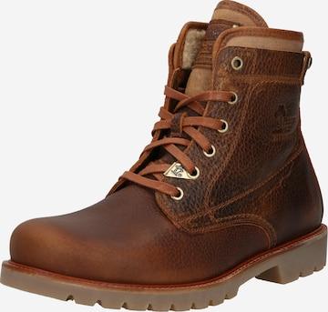 PANAMA JACK Boots med snörning 'Thunder' i brun