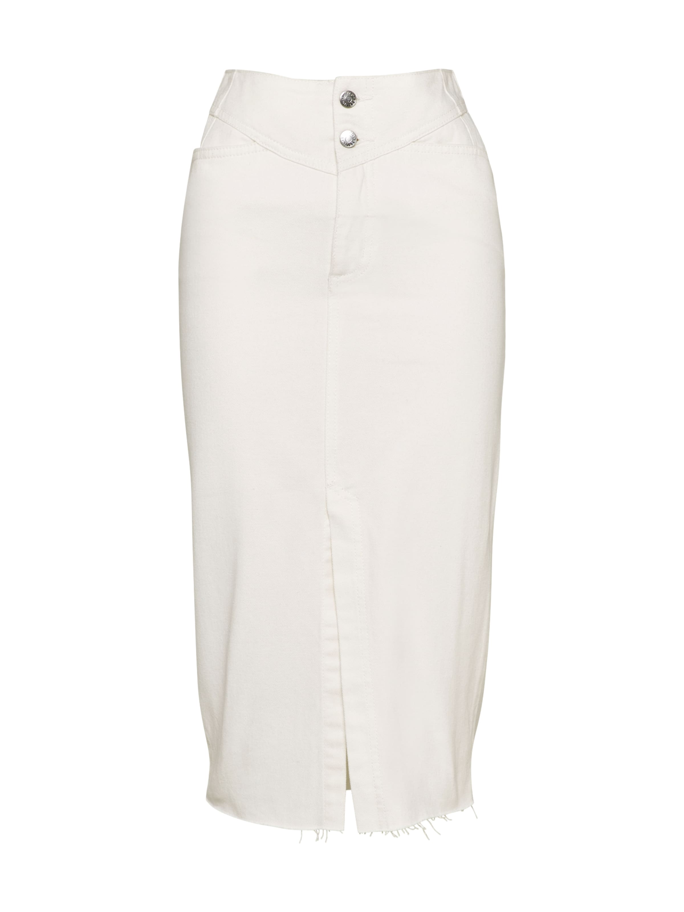EDITED Jeansrock 'Runa' in white denim