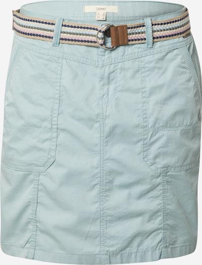 ESPRIT Skirt in aqua / hellblau, Produktansicht