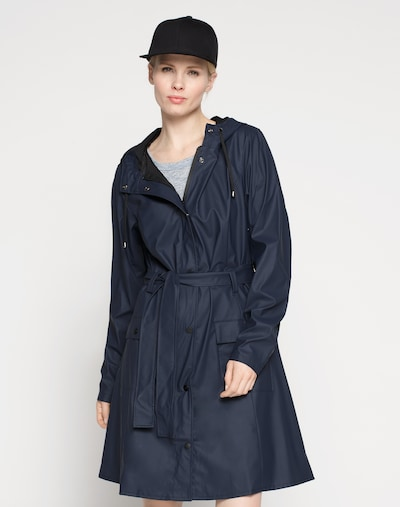 RAINS Prijelazni kaput u mornarsko plava, Prikaz modela
