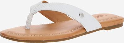 UGG Séparateur d'orteils ' TUOLUMNE' en beige / blanc, Vue avec produit