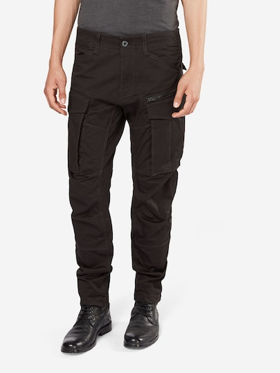 G-Star RAW Cargohose 'Rovic 3D Tapered' in anthrazit, Modelansicht