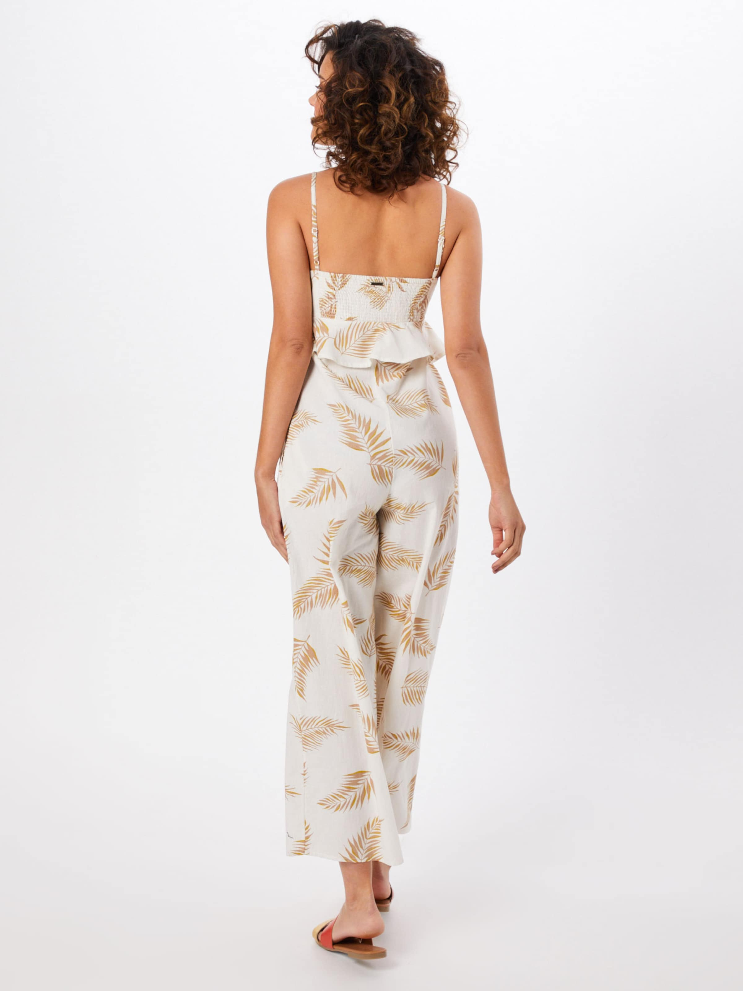 Crème Jumpsuit Billabong Flirt' In 'twist Nny8wOvm0