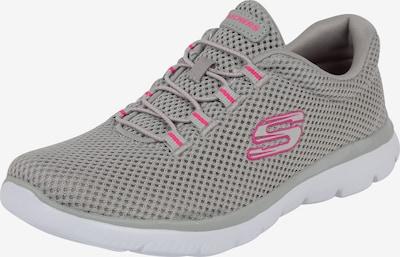 SKECHERS Sneaker 'SUMMITS' in hellgrau / rosa, Produktansicht
