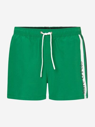Marc O'Polo Badehose ' Solids ' in grün / schwarz / weiß, Produktansicht