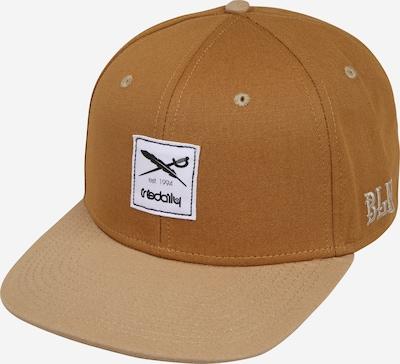 Șapcă 'Daily Contra' Iriedaily pe maro, Vizualizare produs