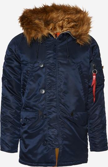 ALPHA INDUSTRIES Zimska jakna | temno modra barva, Prikaz izdelka
