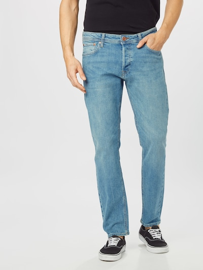JACK & JONES Jeans 'JJIMIKE JJORIGINAL AM 139' in blue denim, Modelansicht