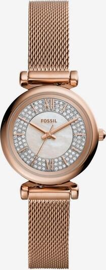 FOSSIL Quarzuhr »CARLIE MINI, ES4836« in rosé / silber, Produktansicht