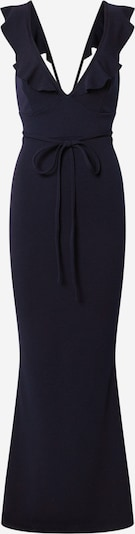 Missguided Kleid 'FRILL' in dunkelblau, Produktansicht