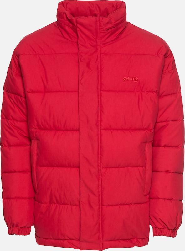D'hiver Veste Rouge Nyc En 'nebraska' Schott jcR3AqL54