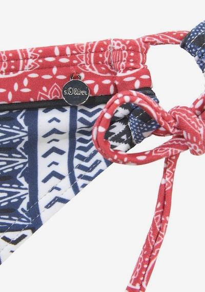 s.Oliver Bikini biksītes 'Cocina' pieejami zils / sarkans, Preces skats